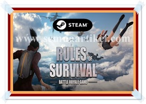 WOW | Game Rules Of Survival Sekarang Di Aplikasi Steam Tidak Ada Cheat