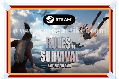 WOW | Game Rules Of Survival Sekarang Di Aplikasi Steam Tidak Ada Cheat