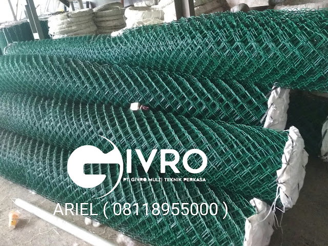 Pagar Kawat Harmonika PVC
