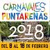 PROGRAMA OFICIAL DE LOS CARNAVALES PUNTARENAS 2018.