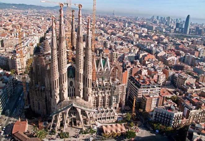 Templo Expiatório da Sagrada Família Barcelona