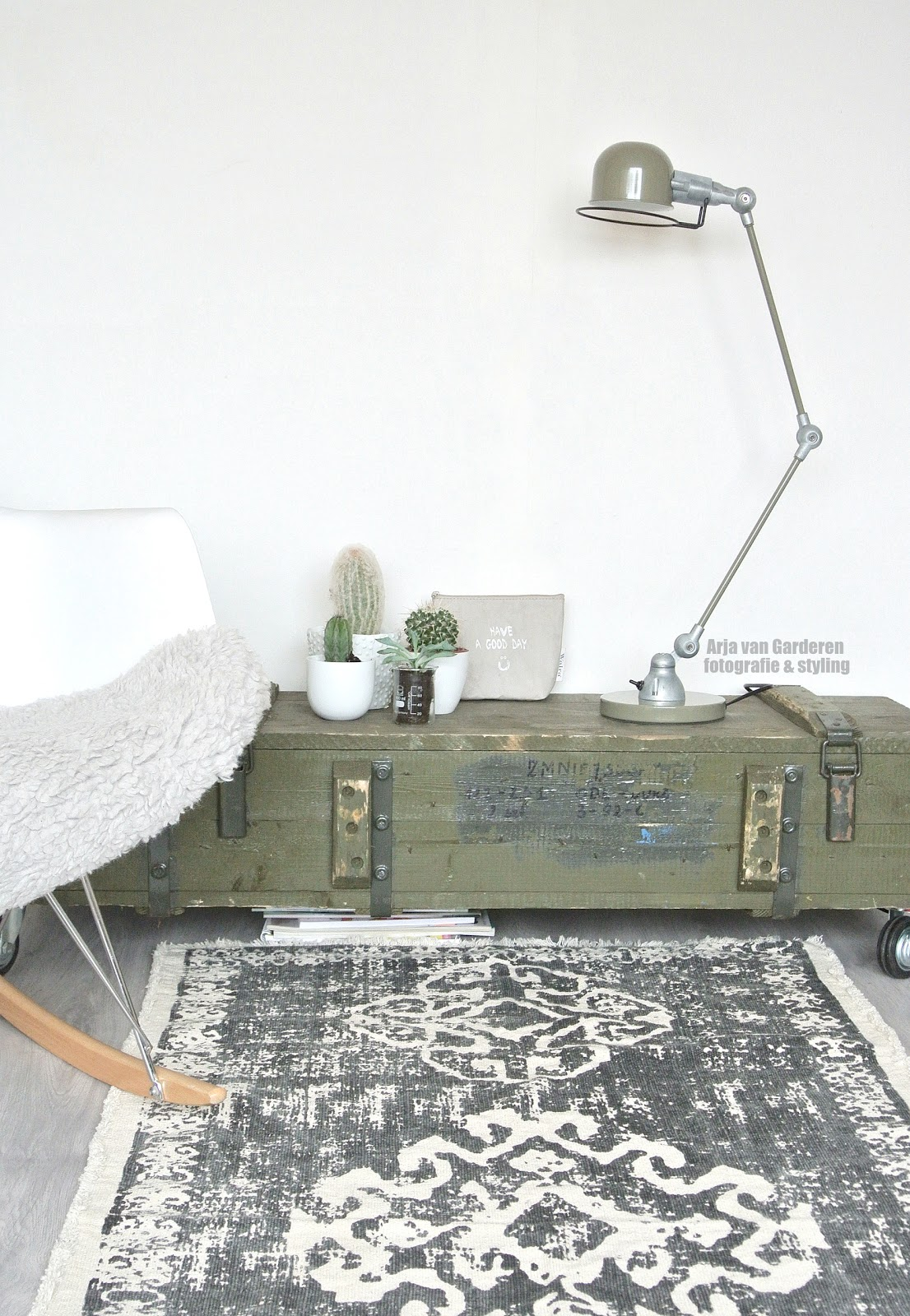 ZW&H.NL: Mijn nieuwe Jielde look-a-like (tafel)lamp!!