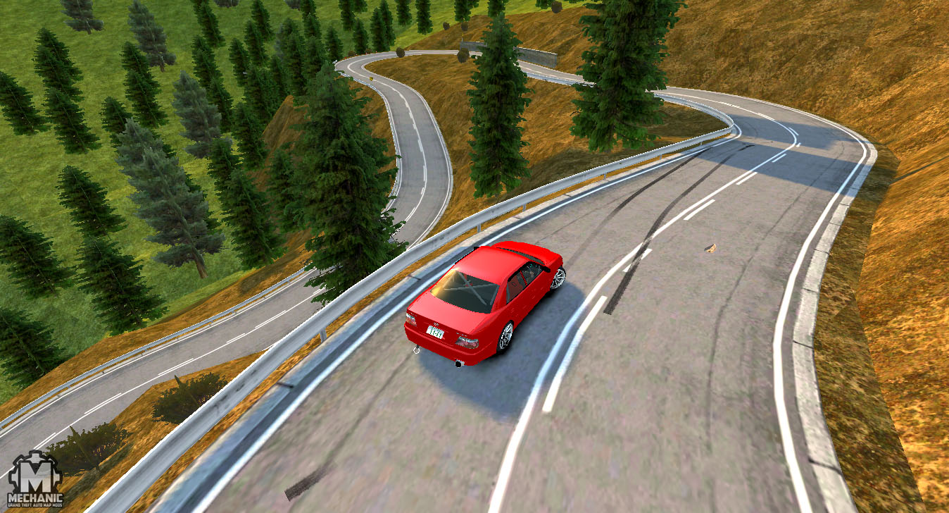 Kagarasan track ( gta iv ) mechanic map mods mechanic map mods