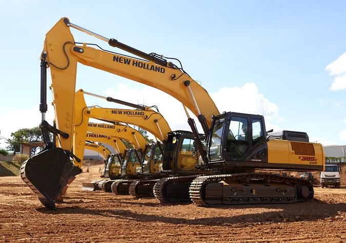 New Holland Construction lança loja online de venda de peças