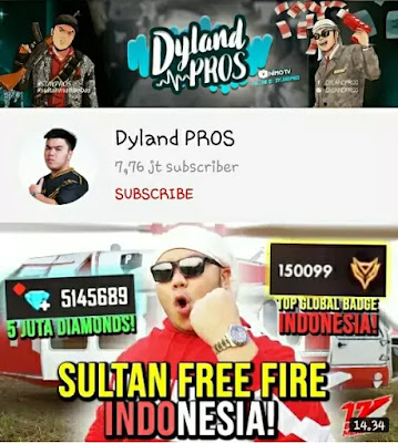 YouTube Game Indonesia - Dyland PROS