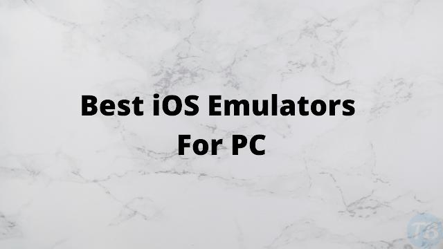 Top 8 ios emulator for PC (Windows) - iPhone, iPad