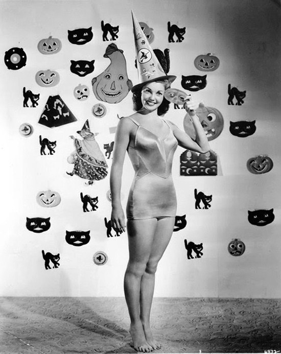 Esther Williams Is Ready To Dive Into Halloween