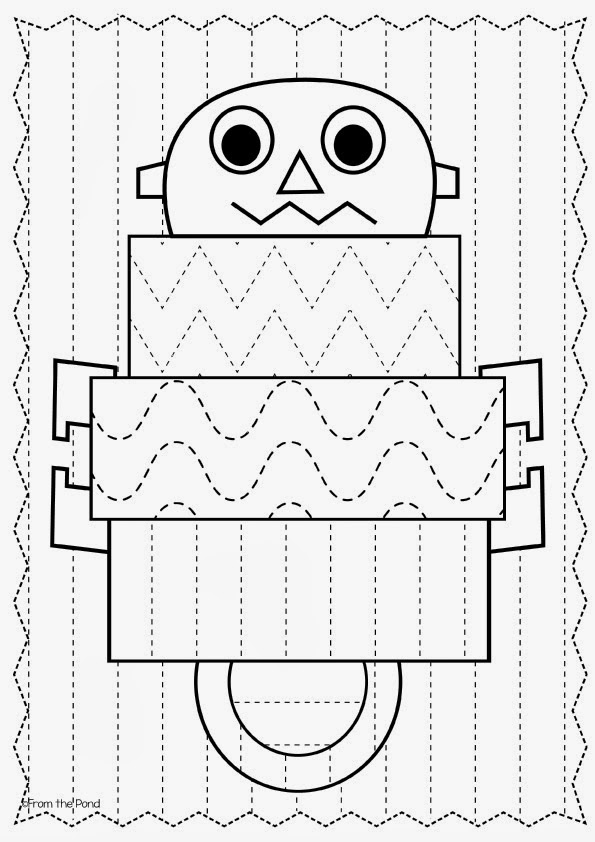 Frog Spot Big Shape Tracing – Shape Tracing Worksheets