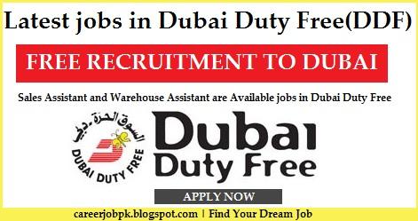 Latest jobs in Dubai Duty Free (DDF)