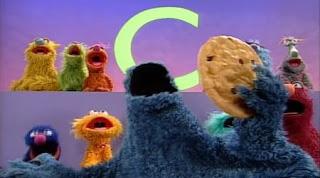 Cookie Monster sings C is for Cookie (1998 version). Sesame Street Alphabet Songs