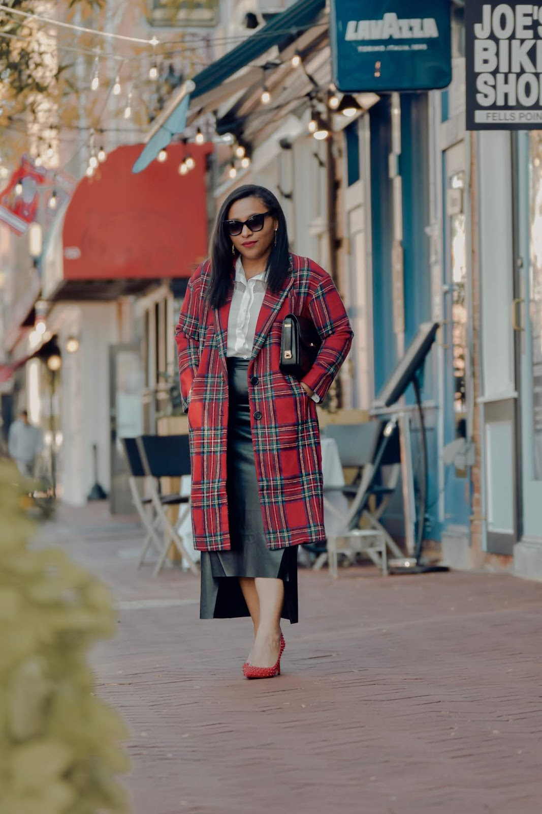 shein, shein clothing reviews, pattys kloset, holiday outfits, plaid coat, holiday wear, party outfits, chic winter outfits