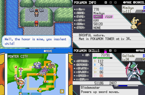 Pokemon Radical Red gba rom hack
