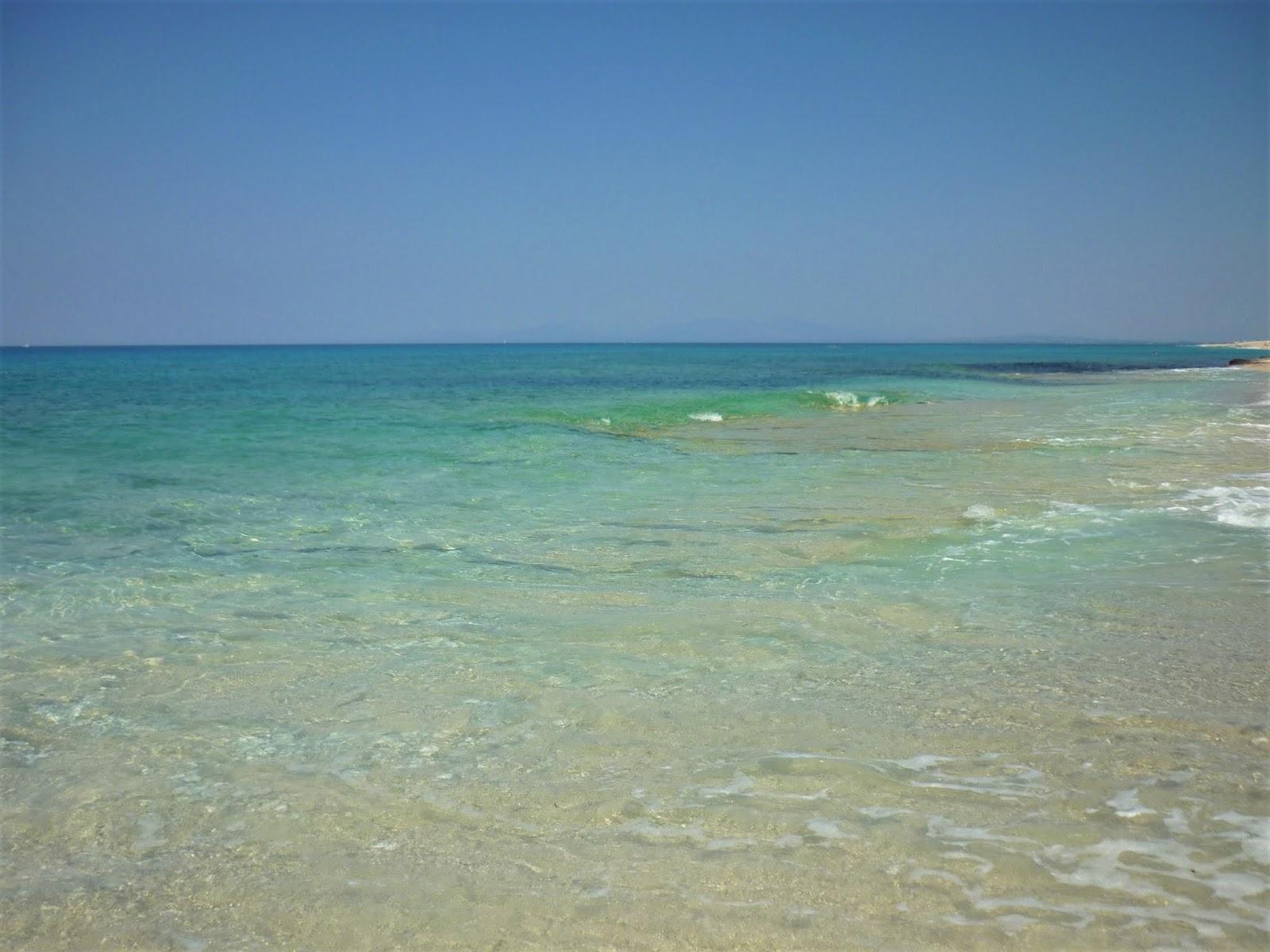 Mare turchese nelle isole ioniche