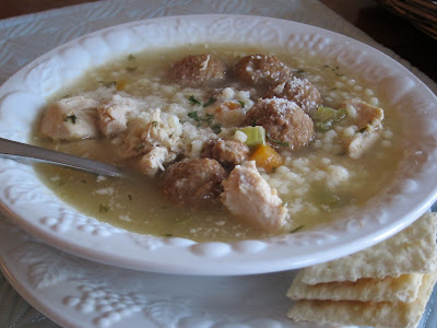 You can make this Italian Wedding Soup homemade, or take a few shortcuts and make it easy. Either way, it is delicious and sure to be a family favorite! You can make this Italian Wedding Soup homemade, or take a few shortcuts and make it easy. Either way, it is delicious and sure to be a family favorite! #WomenLivingWell #meatballs #soup #chicken