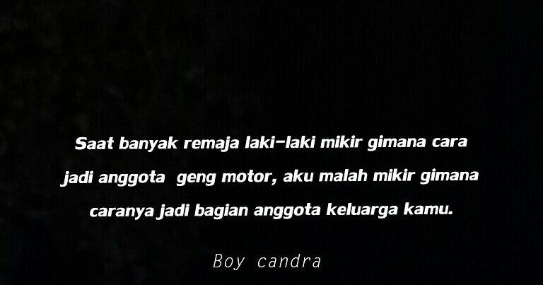 Kumpulan Kata Bijak Dari Facebook Boy Chandra Wamaniac