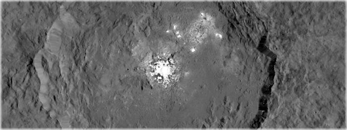 nova imagem dos pontos brilhantes em Ceres
