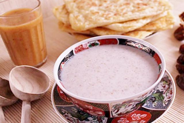 تحضير حساء الشعير