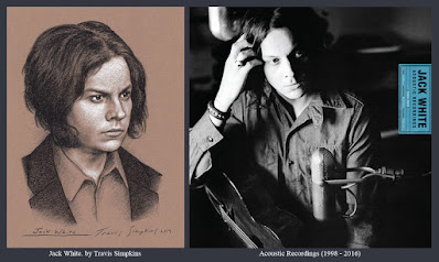 Jack White. Singer-Songwriter and Producer. Acoustic Recordings. Third Man Records. by Travis Simpkins