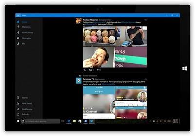 تويتر: التطبيق عالمي جديد لنظام التشغيل Windows 10