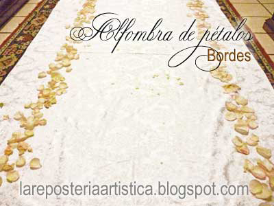 Ideas tipos básicos alfombras de pétalos sencillas guatemala