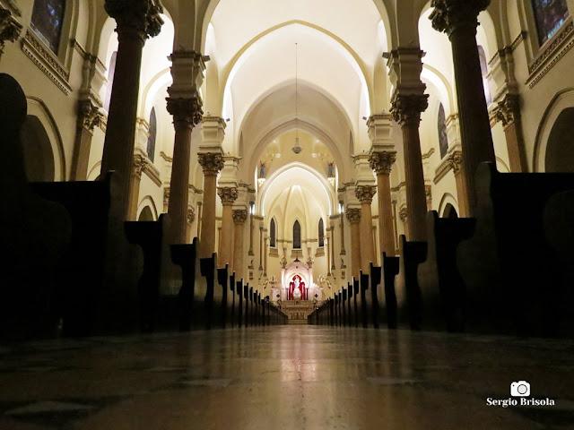 Perspectiva artística do interior da Paróquia Nossa Senhora Auxiliadora - Bom Retiro - São Paulo