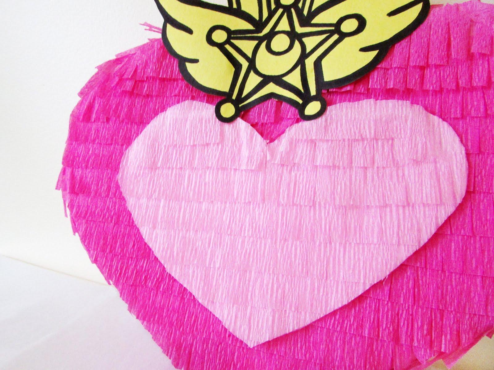 DIY Chibi Moon Compact Piñata