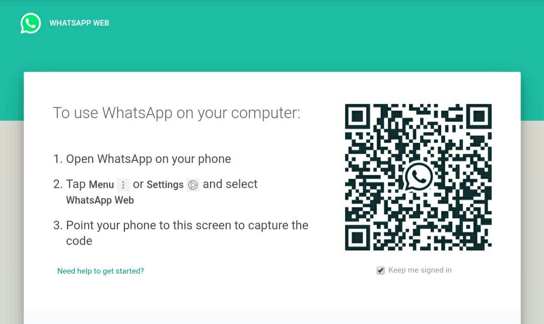 How to Scan a QR Code of WhatsApp in Android and iPhone