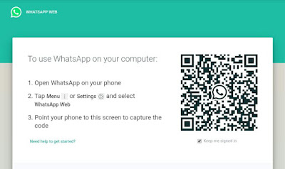 WhatsApp scan code in Android and iPhone