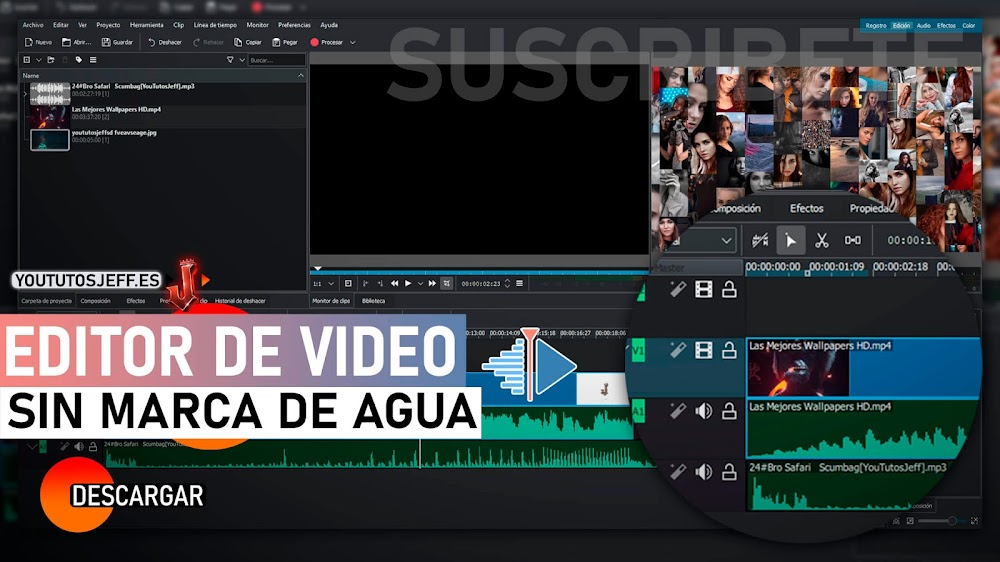 Editor de Vídeo Gratis Sin Marca de Agua   Descargar Kdenlive 2021 ULTIMA VERSION