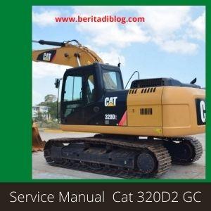 Service Manual Cat 320D2 GC excavator caterpillar