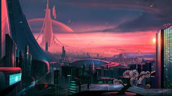 Sci-Fi, City, Scenery, Digital Art, 4K, #4.2058
