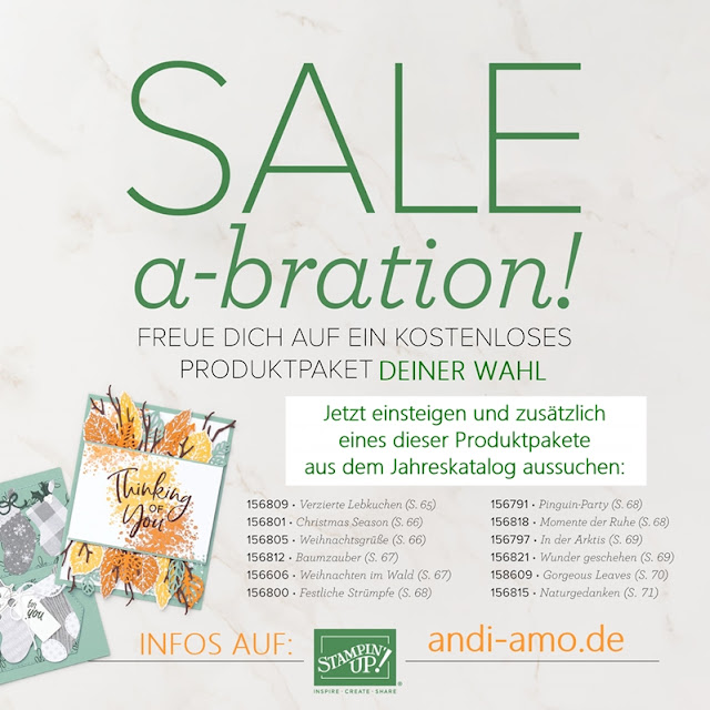 Stampin Up Produktpaket gratis zum Einsteigerset