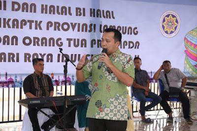 Ridho Ajak Alumni Kepamongprajaan Bangun Pendidikan  Politik yang Sehat di Provinsi Lampung