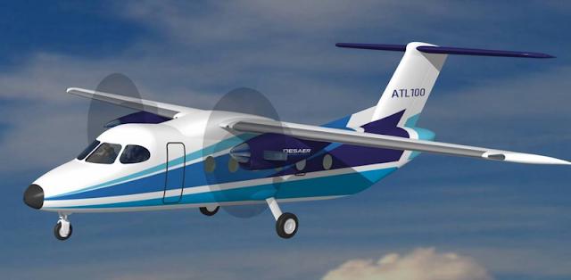 Resultado de imagen para proyecto de avion ATL + brasil