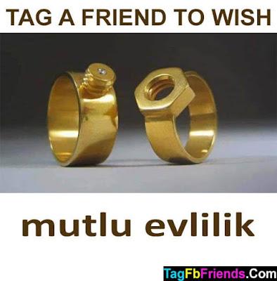Happy marriage in Turkish language