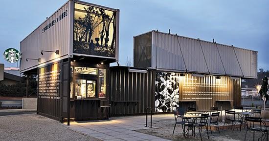 Desain cafe dan resto kontainer  Teknologi Konstruksi Arsitektur