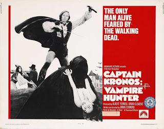 Poster Capitán Kronos, Cazador de Vampiros (1974)