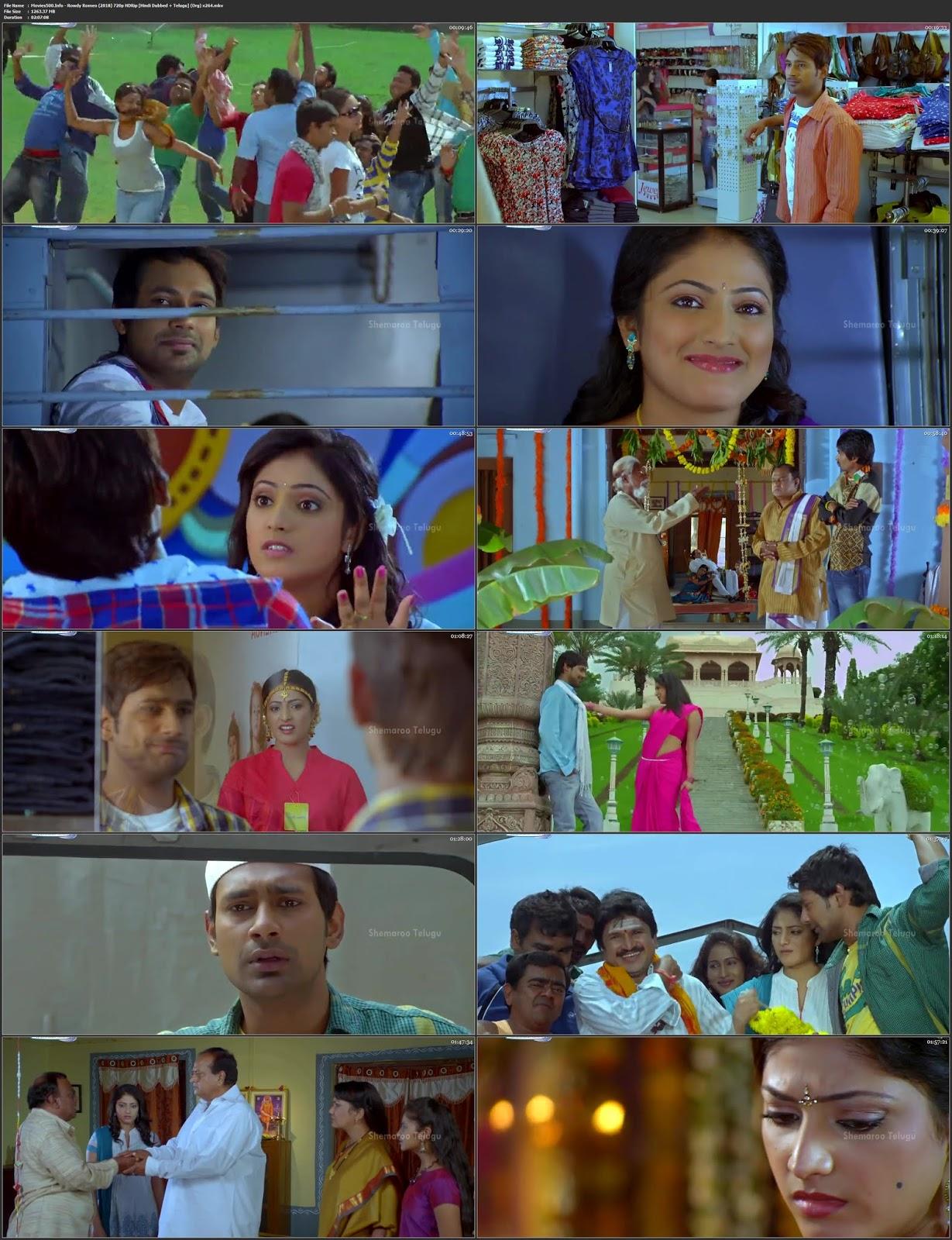 Rowdy Romeo 2018 Hindi Dubbed 720p HDRip 1GB