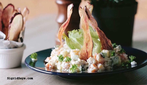 Kix Place - exotic salad- Bacolod restaurants - Where to eat in Bacolod