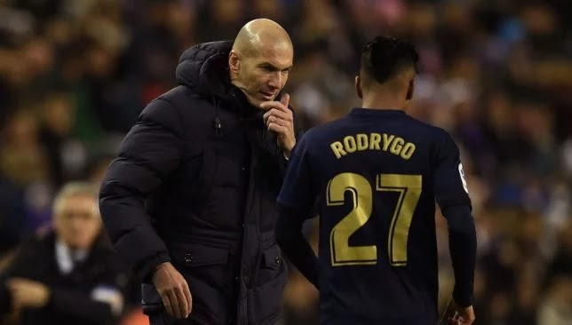Rodrigo surprised Zidane with an unexpected request!