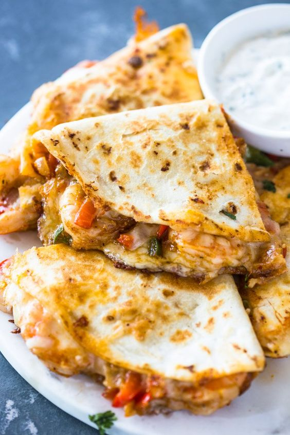 THE BEST SHRIMP QUESADILLAS #recipes #dinner ideas #dinnerideasfortonight #food #foodporn #healthy #yummy #instafood #foodie #delicious #dinner #breakfast #dessert #lunch #vegan #cake #eatclean #homemade #diet #healthyfood #cleaneating #foodstagram