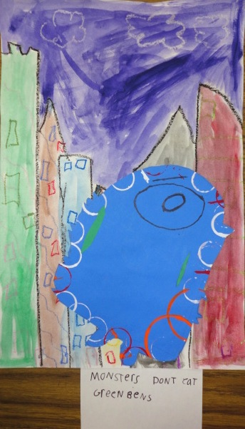 Thomas Elementary Art Monsters Don T Like Broccoli Multimedia By 1st Graders