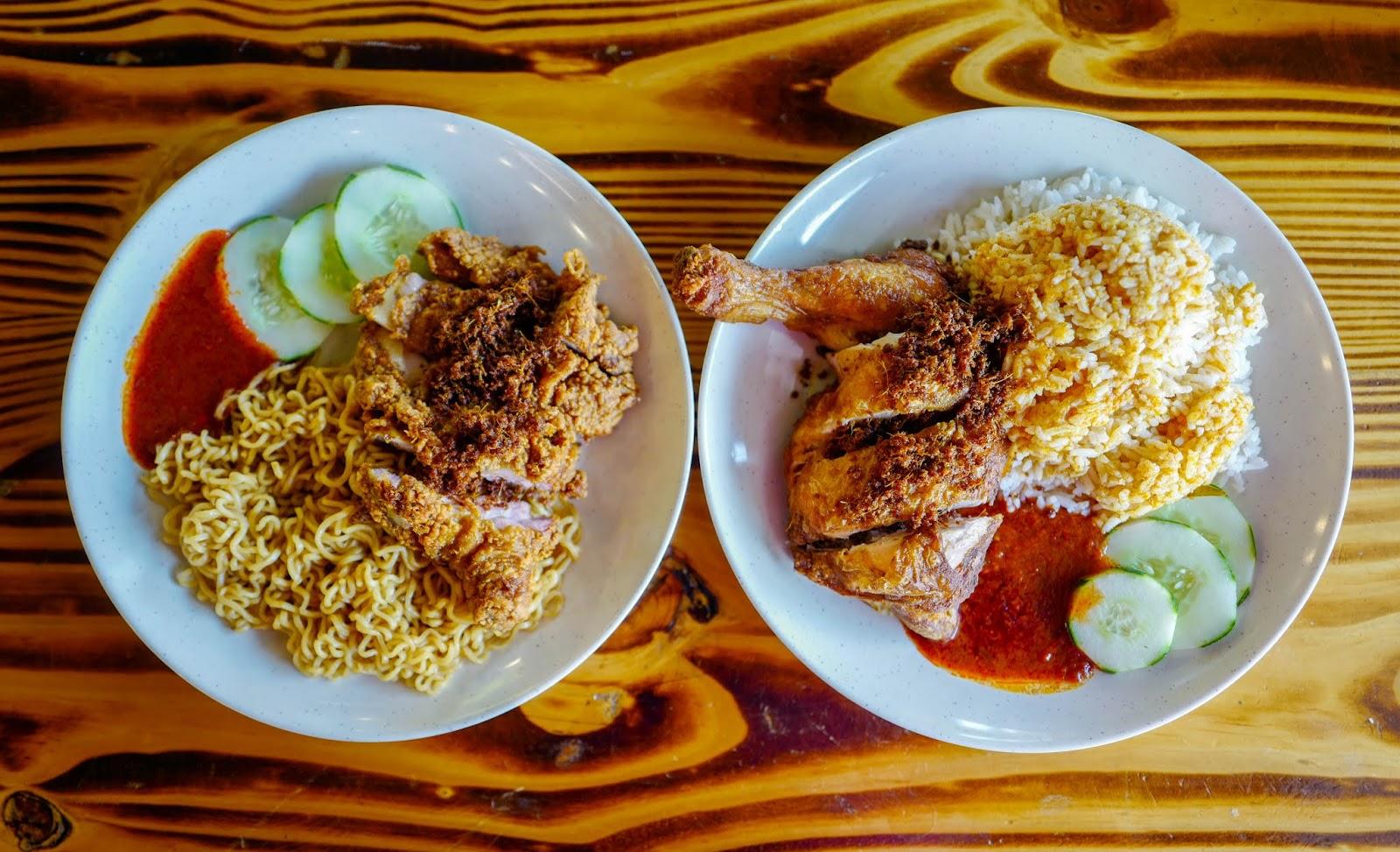 dendy doo fried chicken, petaling jaya