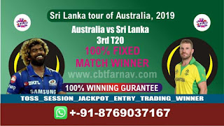3rd T20 SL vs Aus Match Prediction Today Sri Lanka tour of Australia, 2019