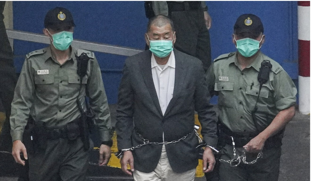 Lai's bail appeal tests the interpretation of the HK National Security Act