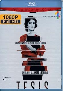 Tesis[1996] [1080p BRrip] [Castellano] [GoogleDrive] LaChapelHD
