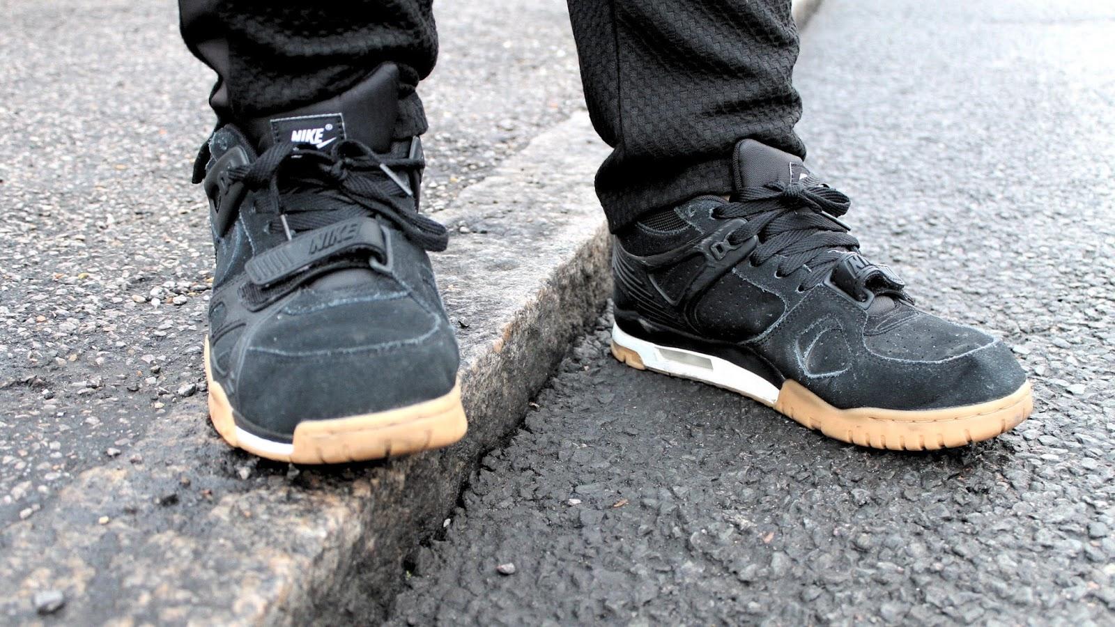 Nike Black & Camel Trainers