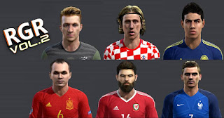 PES 2013 Facepack V.2 by Vicen
