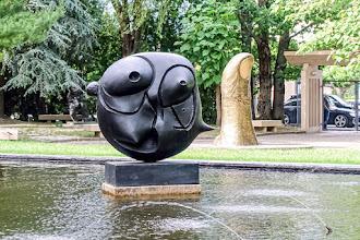 Ailleurs : Parc de sculptures de la Fondation Pierre Gianadda à Martigny - Suisse