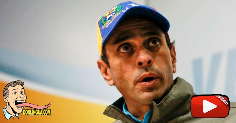 Capriles no cuestiona al CNE pero si cuestiona hacer elecciones con Covid